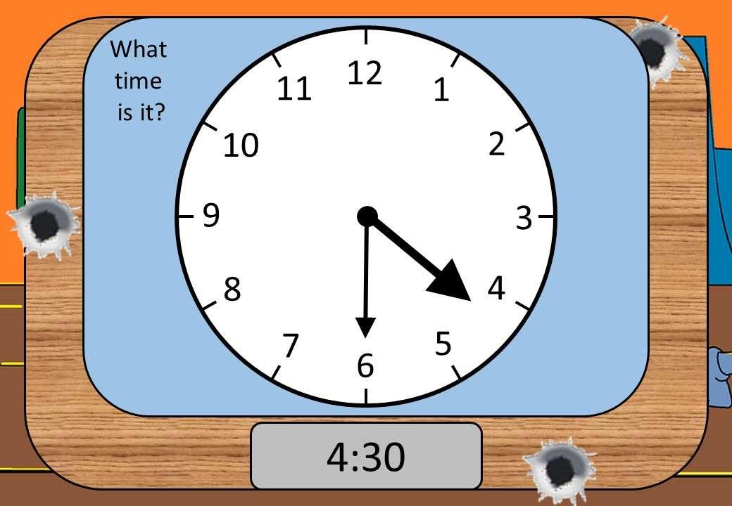 Reading Clocks - Shootout
