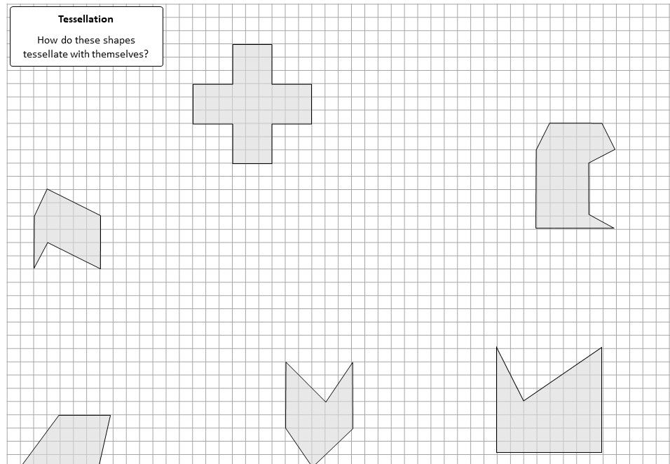 Tesselations - Worksheet A