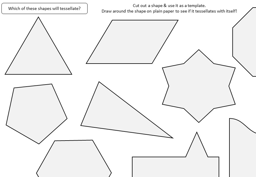 Tessellations - Activity A