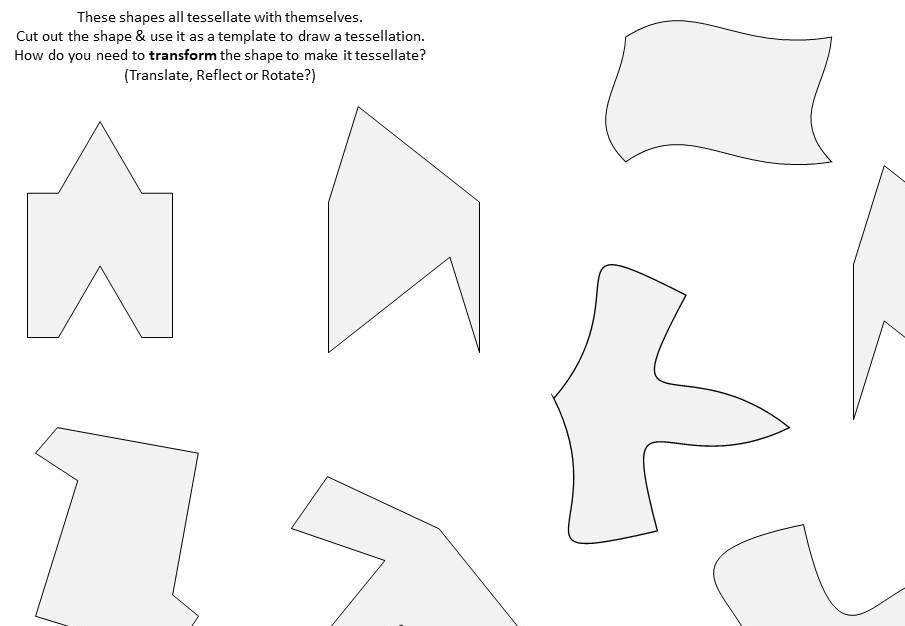 Tessellations - Activity B